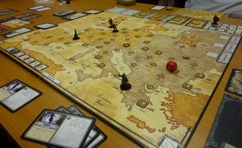Fury of Dracula play